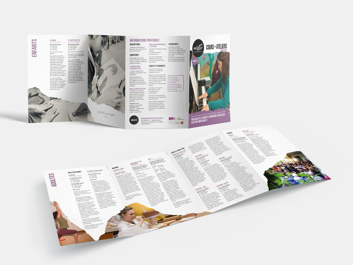 MQEV Brochure Cours Ateliers